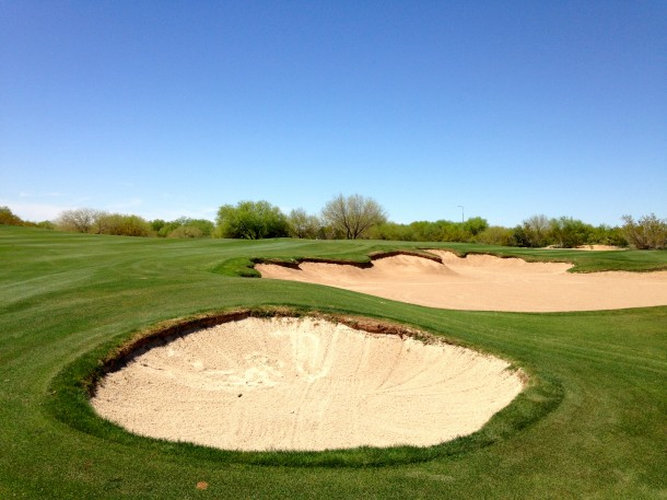 Anything really short ends up in the waste area of one of these bunkers.