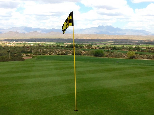 We-Ko-Pa Saguaro is located in a beautiful Sonoran Desert setting with mountain and mesa vistas on every hole.